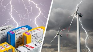 Lightning protection system components