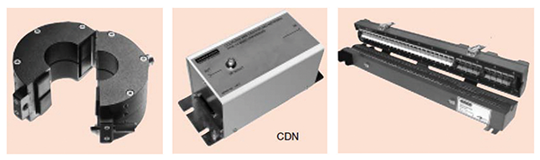 Figure 13: Pictures of three different types of directional couplers