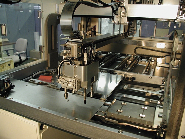 Figure3: Robotic arm of a typical IC handler
