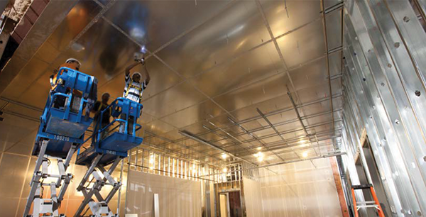 Independently tested and certified EMP protection solutions ensure continuation of service should an EMP event occur. Solutions include shielding of walls, floor and ceiling, plus protective entry points for air, water, and power. (photo courtesy ETS-Lindgren)