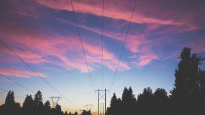 Power Line Transformer